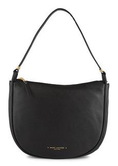 Marc Jacobs Falafel Leather Saddle Bag