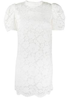 Marc Jacobs floral lace mini dress