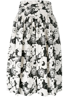 Marc Jacobs floral pleated skirt