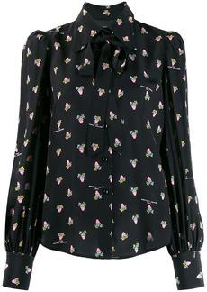 Marc Jacobs floral-print loose-fit shirt