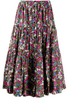 Marc Jacobs floral print skirt