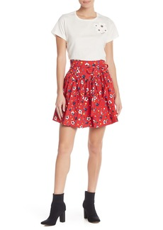 Marc Jacobs Floral Yoked Flare Skirt