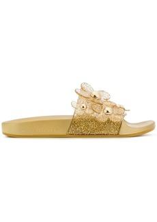 Marc Jacobs flower design slippers