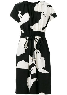 Marc Jacobs flower print belted dress