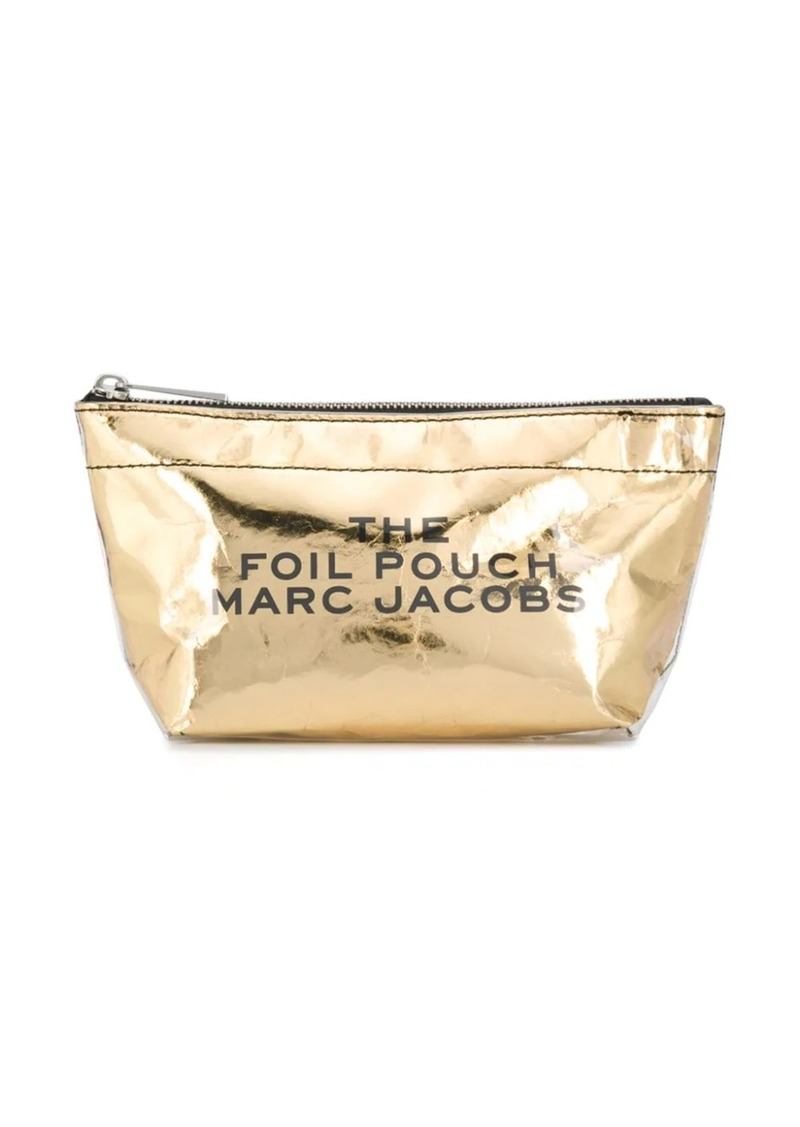 Marc Jacobs Foil makeup bag
