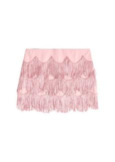 Marc Jacobs Fringe Mini Skirt