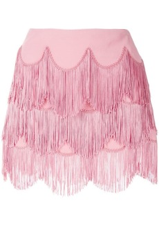 Marc Jacobs fringed mini skirt