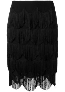 Marc Jacobs fringed skirt