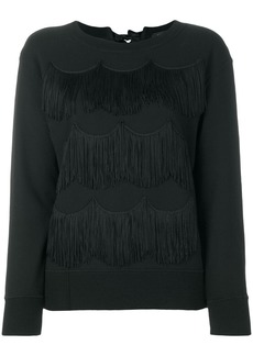 Marc Jacobs fringed sweatshirt