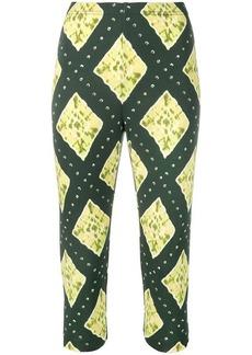 Marc Jacobs geometric print cropped leggings