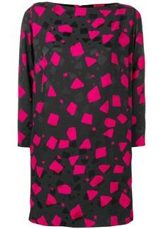 Marc Jacobs geometric print dress