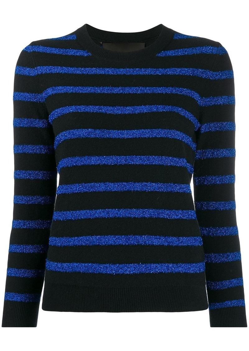 Marc Jacobs glitter stripe jumper