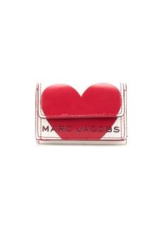 Marc Jacobs Heart logo billfold wallet