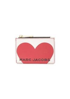 Marc Jacobs heart logo wallet