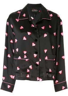 Marc Jacobs heart print shirt
