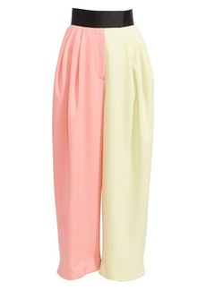 Marc Jacobs Runway High-Waist Colorblock Pants