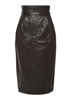 Marc Jacobs High Waist Leather Skirt