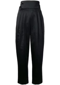 Marc Jacobs high-waist satin trousers