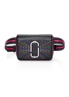 Marc Jacobs Hip Shot Confetti Leather Belt Bag