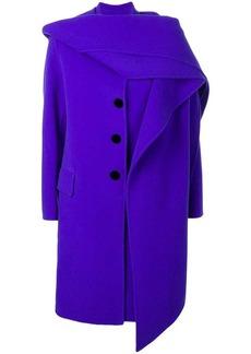 Marc Jacobs hooded midi coat