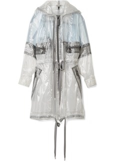 Marc Jacobs Hooded oversized organza jacket