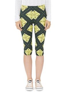 Marc Jacobs Redux Grunge Ikat Jersey Crop Leggings