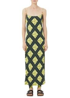 Marc Jacobs Redux Grunge Ikat Jersey Slip Dress