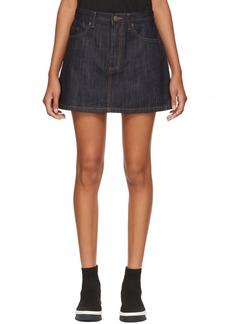 Marc Jacobs Indigo Denim Miniskirt