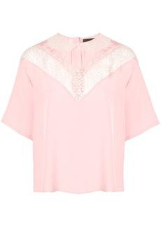 Marc Jacobs lace detail blouse
