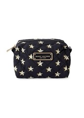 Marc Jacobs Large Star-Print Quilted Cosmetic Bag