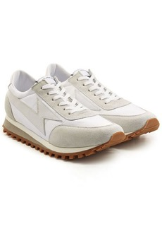 Marc Jacobs Leather and Suede Sneakers