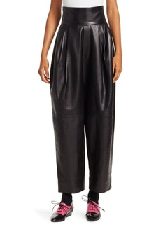 Marc Jacobs Leather Blouson Pants