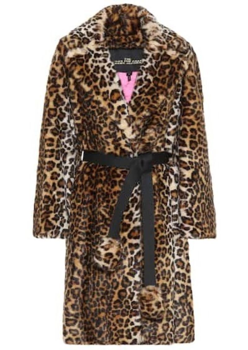 Marc Jacobs Leopard-print faux-fur coat