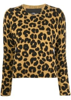 Marc Jacobs leopard print sweater
