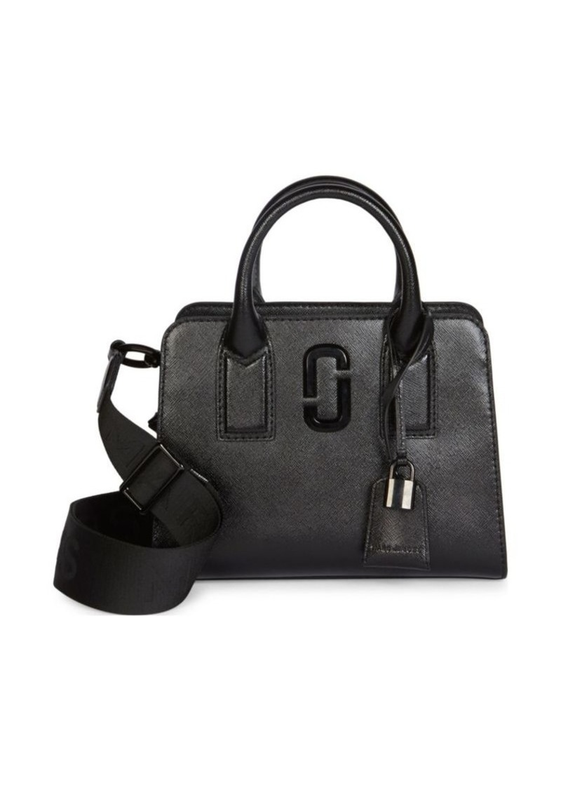 Marc Jacobs Little Big Shot DTM Coated Leather Satchel