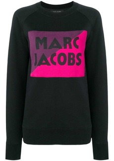 Marc Jacobs logo colour-block sweater
