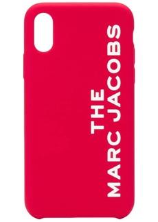 Marc Jacobs logo iPhone XS case