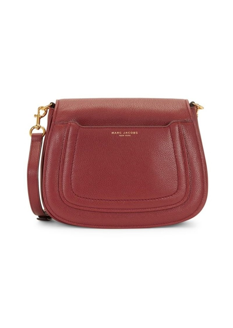 Marc Jacobs Logo Leather Crossbody Bag