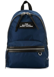 Marc Jacobs large logo plaque backpack