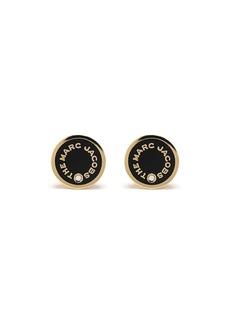 Marc Jacobs logo-print stud earrings