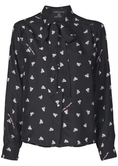 Marc Jacobs Magda Archer x The Silk Shirt