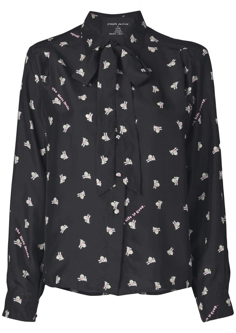 Marc Jacobs x Magda Archer The Silk shirt