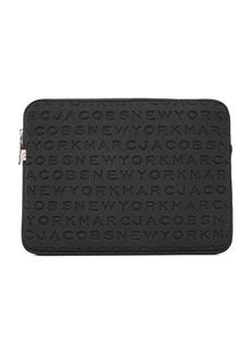 "Marc Jacobs 13 Neoprene Logo Computer Case"""