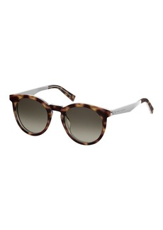 Marc Jacobs 47mm Round Sunglasses