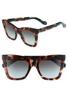 MARC JACOBS 50mm Cat Eye Sunglasses