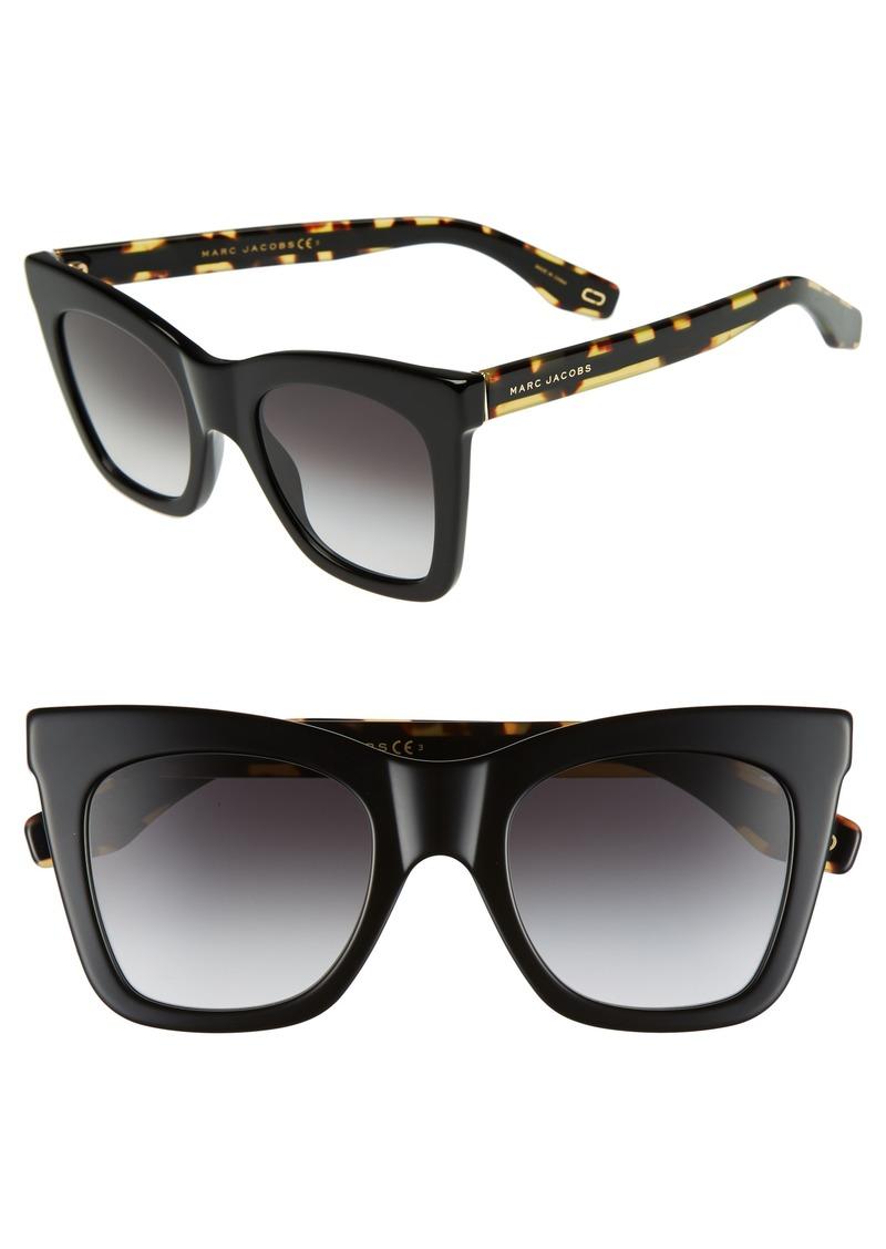 d4d5891f79 Marc Jacobs MARC JACOBS 50mm Cat Eye Sunglasses
