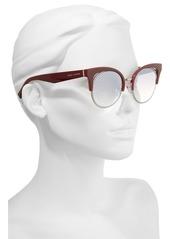 MARC JACOBS 51mm Gradient Lens Cat Eye Sunglasses