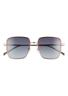 MARC JACOBS 51mm Gradient Square Sunglasses