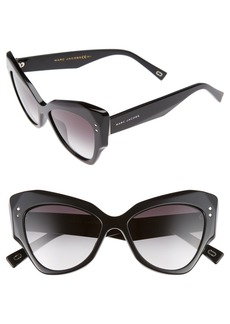 MARC JACOBS 52mm Cat Eye Sunglasses