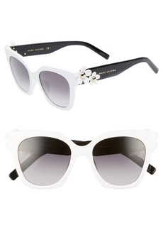 MARC JACOBS 52mm Daisy Cat Eye Sunglasses